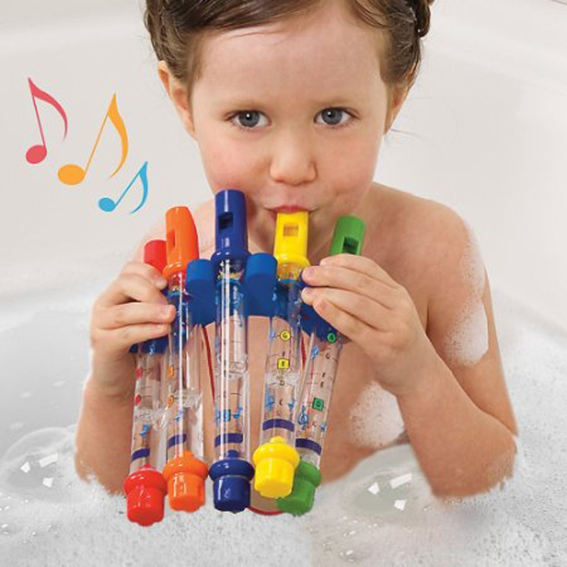 Горячая продажа цветная водная флейта для ребенка Alpinia Oxyphylla для раннего детства для комнаты принимать душ для плавания собирайте музыкальн...