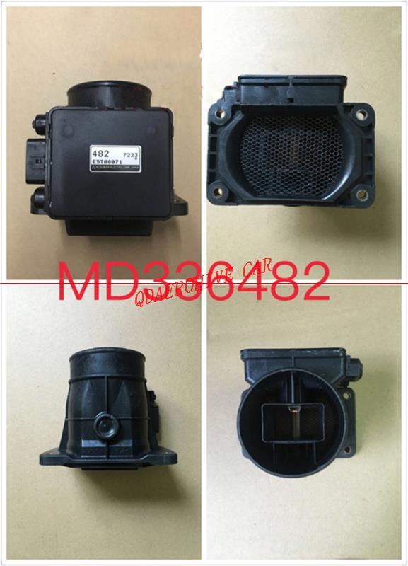QDAEROHIVE RE-NEWED Sensor MAF en masa medidor de flujo de aire para Mitsubishi Pajero Montero Sport Challenger Galant MD336482 E5T08071