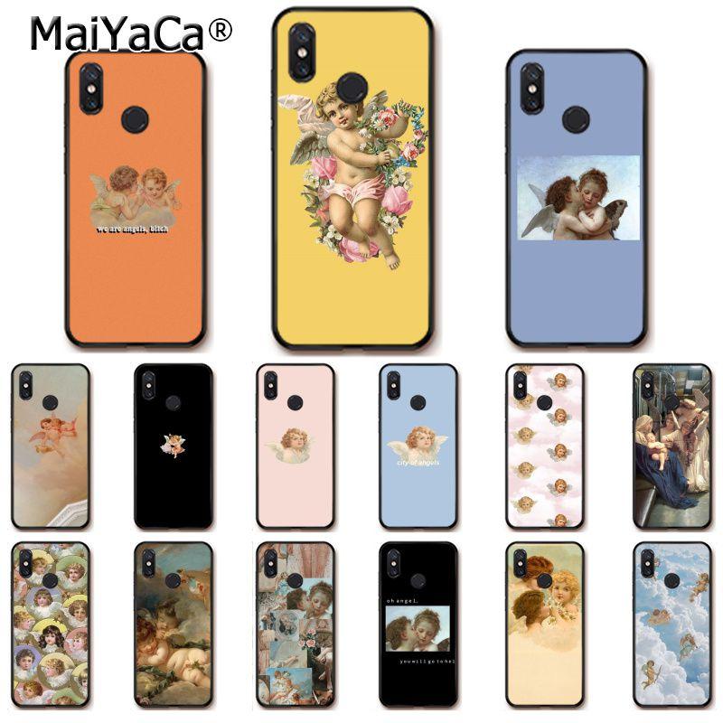 MaiYaCa Renaissance angels Phone Case for Xiaomi Redmi8 4X 6A Redmi Go Redmi5 5Plus Note7 8ProA1 A2Lite