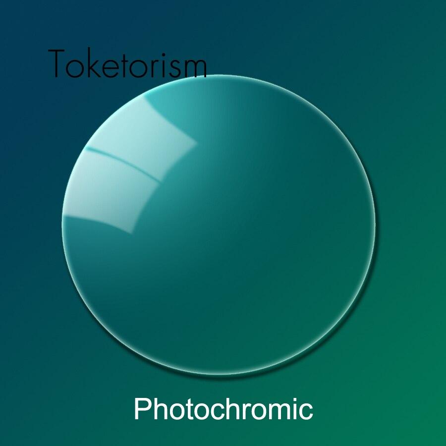 Toketorism-نظارات فوتوكرومية بوصفة طبية لقصر النظر وحصر النظر الشيخوخي ، مؤشر 1.56 ، 1.61