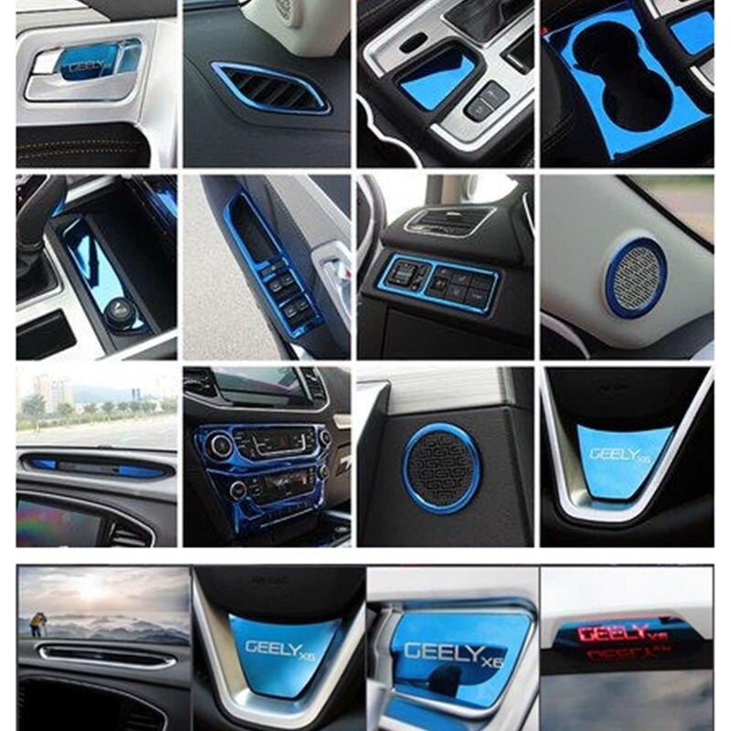 Para Geely Emgrand X7 EmgrarandX7... EX7 FC SUV visión X6... NL4 coche etiqueta engomada