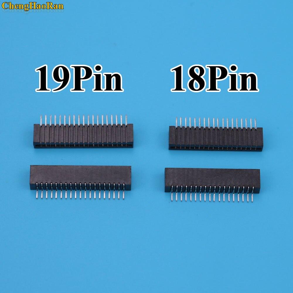 2 шт. 18Pin 19Pin ключ пленочный разъем для Sony PS2 гибкий ленточный гибкий кабель Соединительный порт проводящий пленочный разъем