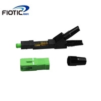 100pcsbox ftth scapc singlemode fiber optical scapc quick connector high quality fiber optic fast connector free shipping