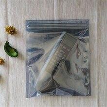 Sac de protection antistatique ESD   1000 pièces, pochettes pour instruments antistatiques, pochettes étanches, sac antistatique à fermeture automatique