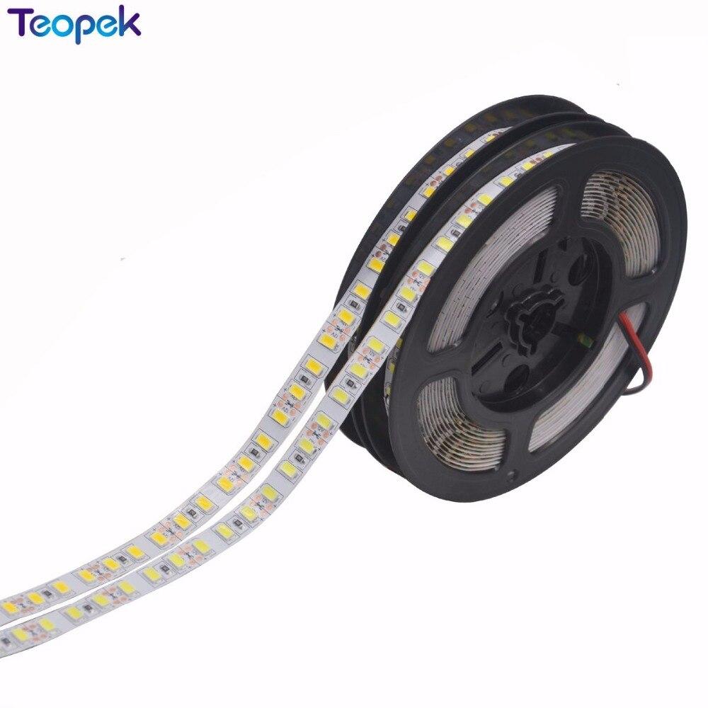 Super brillante 5m 5630 LED tira 120 led/m IP20/IP67 impermeable, 12V flexible 600 LED cinta, 5630 LED cinta, Blanco/blanco cálido