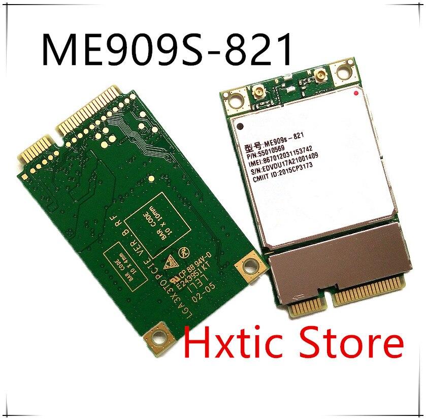 NEW 1PCS/LOT 100% new and orginal ME909S-821 MINI PCIE LTE 4G All-Netcom Module ME909S