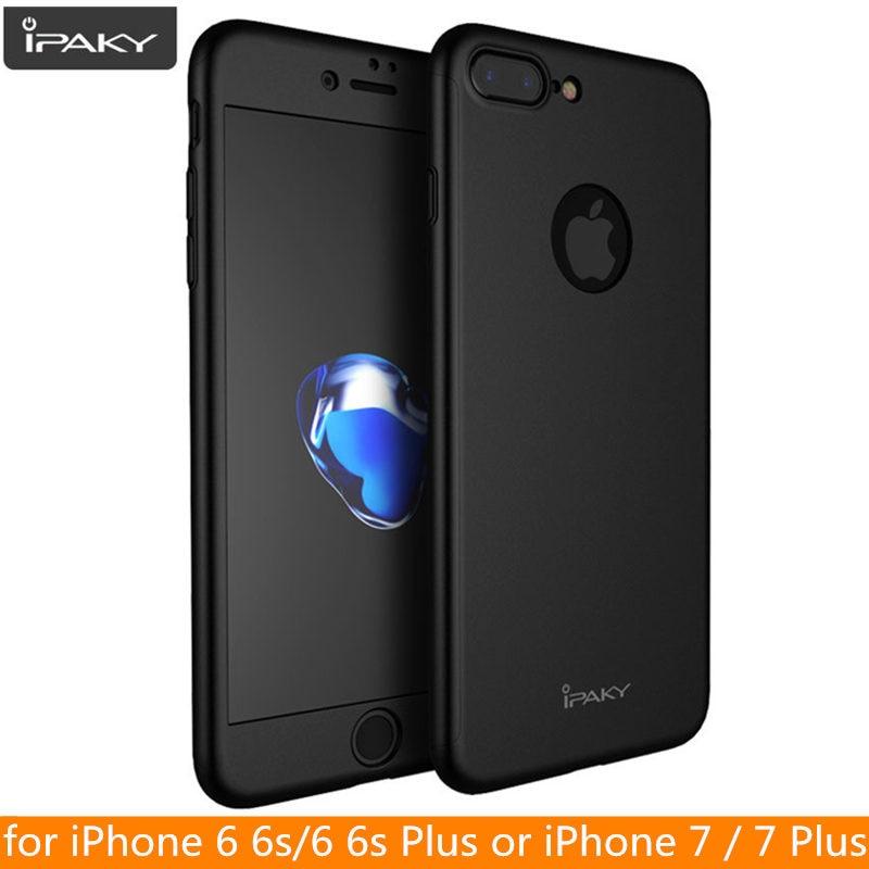 Для iPhone SE 2020 Чехол IPAKY полное покрытие чехол для iPhone 7 6 6s Plus защитный полный корпус чехол для iPhone 8 8 Plus