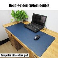 Pbpad Winkel Oversized Kantoor Muismat Bureau Schrijven Mousemats Computer Effen Kleur Mousepad Lederen Notebook Pads Voor Kantoor