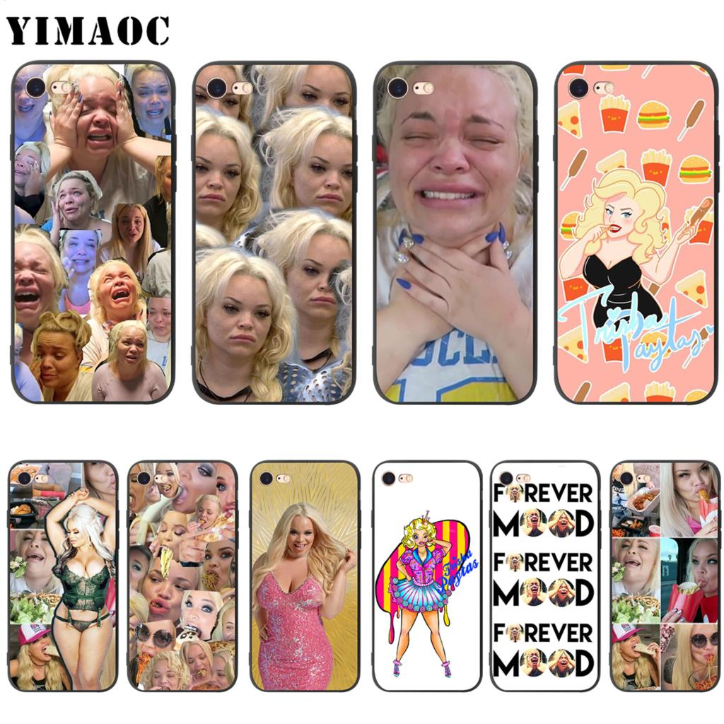 YIMAOC Trisha personalizados, idea funda de silicona suave para iPhone 11 Pro XS Max XR 8X8 7 6 6S Plus 5 5S se