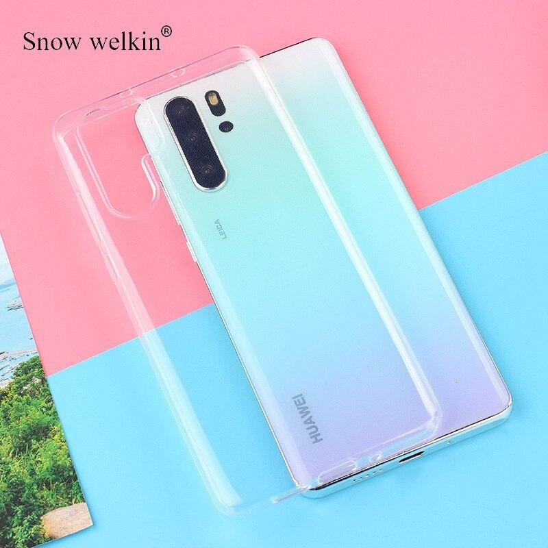 360 de silicona transparente cubierta de teléfono de TPU suave para Huawei...