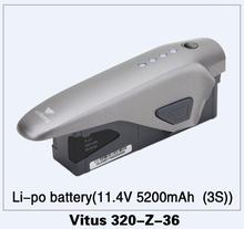 Walkera VITUS 320 RC quadrirotor pièces de rechange Vitus 320-Z-36 li-po batterie (11.4 V 5200 mAh (3 S))