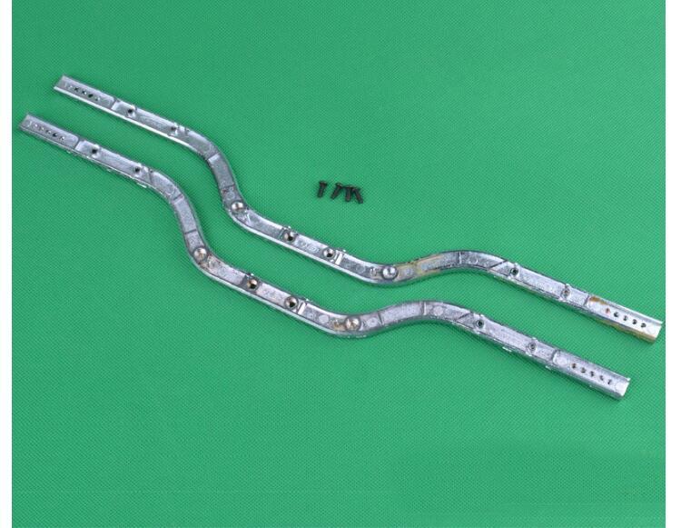 HG P401 P402 P601 SCX10 1/10 RC Car spare parts upgrade Metal beam Main metal bridge frame P10001