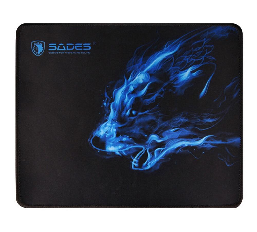 Cómodo diseño de lobo negro 300*250*3 MM, alfombrilla antideslizante para ordenador portátil, alfombrilla para ratón para juegos, alfombrilla para ratón óptico