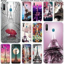 Liefde Parijs eiffeltoren Siliconen Telefoon Geval Voor Samsung Galaxy A80 A70 A60 A50 A40 A40S A30 A20E A2CORE M40 note 10 Plus 9 8 5