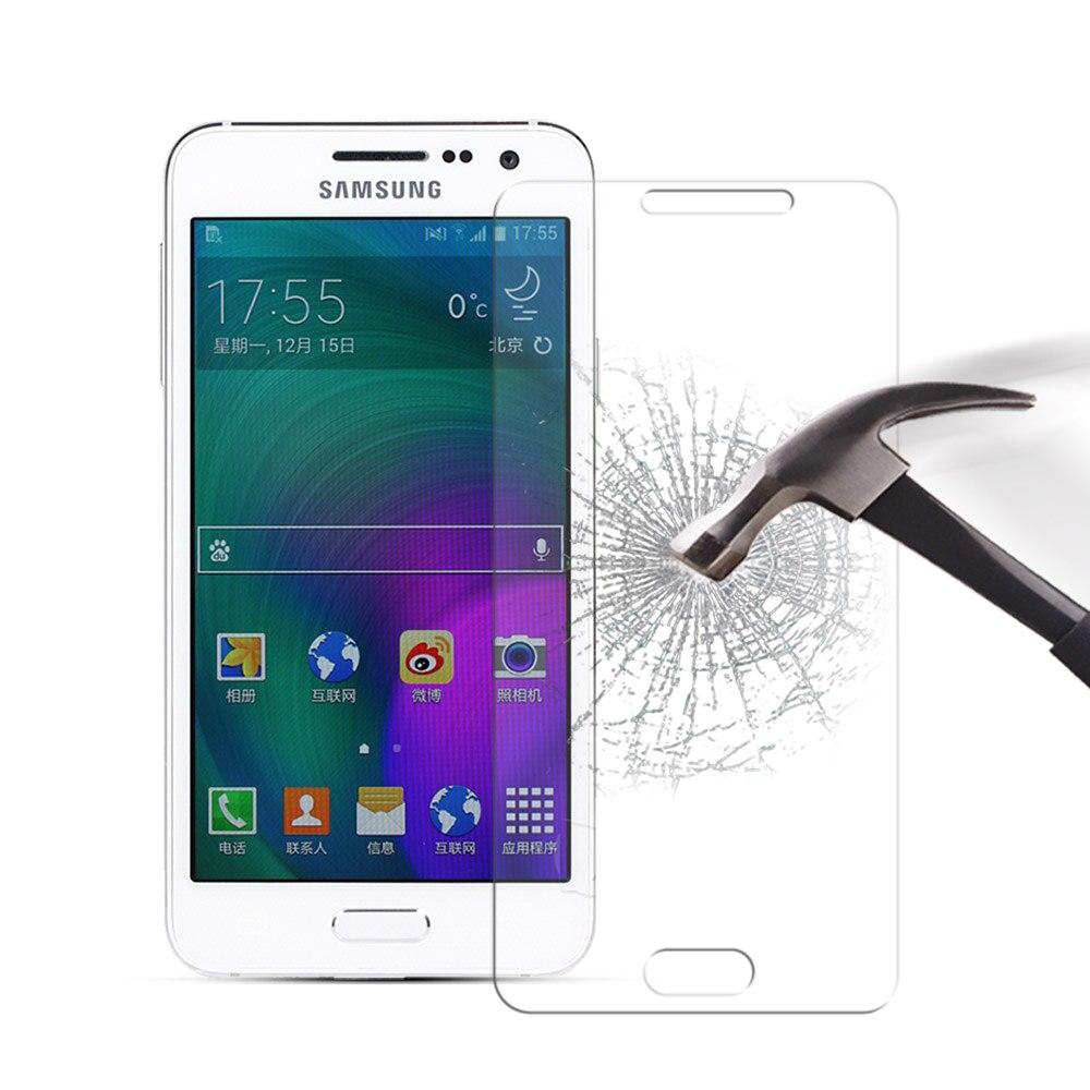 Закаленное стекло для Samsung Galaxy A3 2015 A300 A300F, защитная пленка для экрана телефона Samsung A3, стеклянная пленка