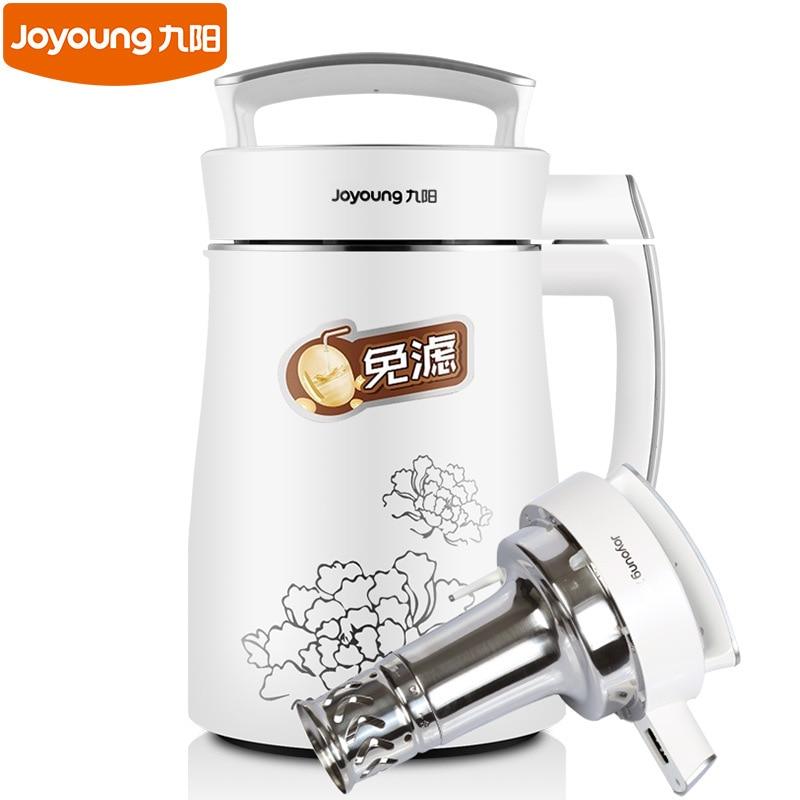 Nouveau Joyoung entièrement automatique fabricant de lait de soja 1300 ML capacité ménage gratuit filtre alimentaire mélangeur soja lait Machine