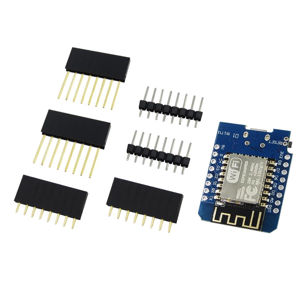 D1 mini-Mini NodeMcu 4 м байт Lua ESP8266 WIFI Интернет das Coisas baseado placa de desenvolvimento por WeMos