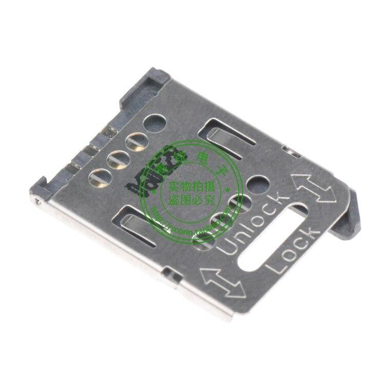 Conector de tarjeta SIM de 3 pines para tarjeta SIM Cato modelo 0470230001