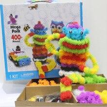 200 pièces/lot assemblage 3D Puzzle enfant jouets éducatifs bricolage balle pressé variété forme créative à la main Puzzles jouets pour enfants