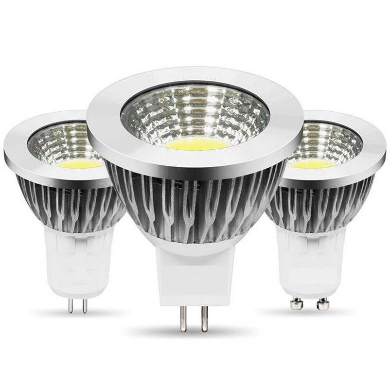 Bombillas de luz led Led superbrillante GU10 E27 MR16, Blanco/cálido 85-265V 9W 12W 15W 20W, foco de luz LED lámpara LED COB