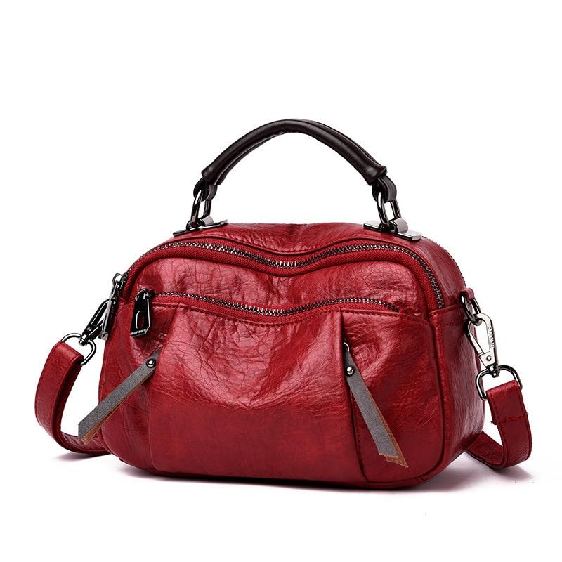 hot sale 2019 new shoulder bag female Europe and America zipper ladies bag fashion handbag bag free shipping