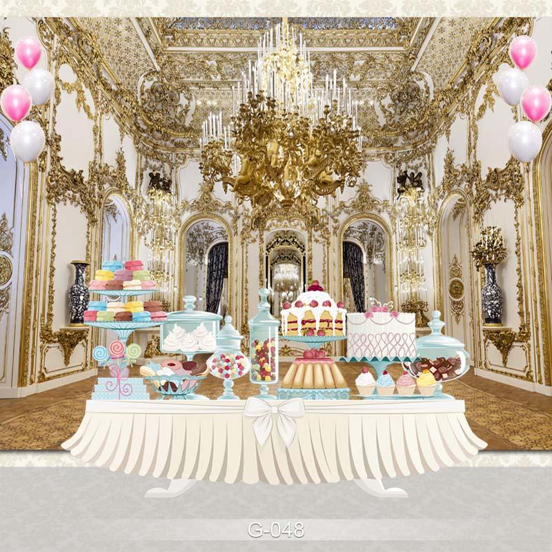 Fundo de fotografia de vinil beleza e a besta castelo antigo festa de aniversário crianças backdrops para photo studio G-048