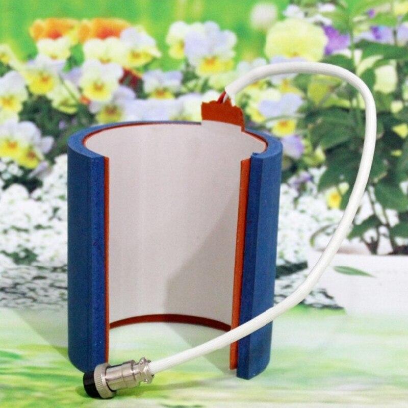 Sublimation Mug Press Fahrenheit Machine Accessory 12OZ Cylinder Shape Silicone Mug Heating Pad Baking Cup Machine Mat