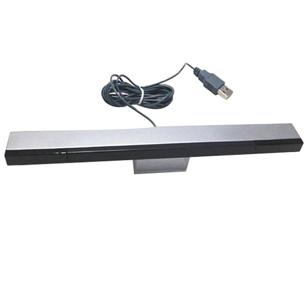 100 قطعة USB الأشعة تحت الحمراء التلفزيون راي السلكية شريط الاستشعار عن بعد استقبال محث لوحدة تحكم Wii