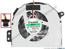 SUNON MF60100V1-Q032-G99 HFMH9 0HFMH9  CPU cooling fan for Dell N4110 V3450 laptop fan KSB0505HA-C-AJ60 4BR01FAWI00 3ADTA 5V 0.4