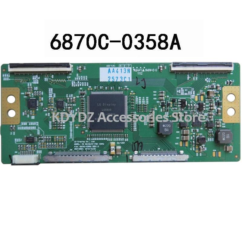 Бесплатная доставка хорошая тестовая T-CON плата для V6 32/42/47 FHD 120HZ 6870C-0358A VER1.0