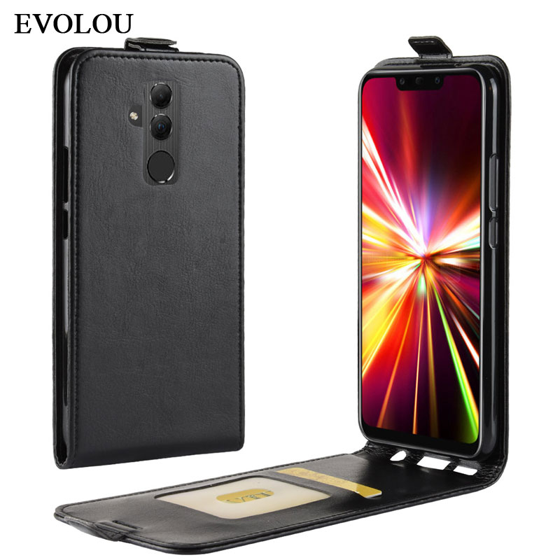 Vertikale Flip-Cover für Huawei Mate 20 Lite Fall Brieftasche Leder Fall für Huawei Mate 20 Lite SNE-LX1 Handy tasche Zurück Abdeckung