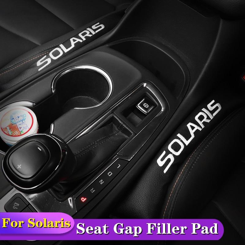 2 uds de asiento relleno de cojín suave relleno espaciador para Hyundai Solaris 2011, 2012, 2013, 2014, 2015, 2016, 2017, 2018 accesorios de estilo