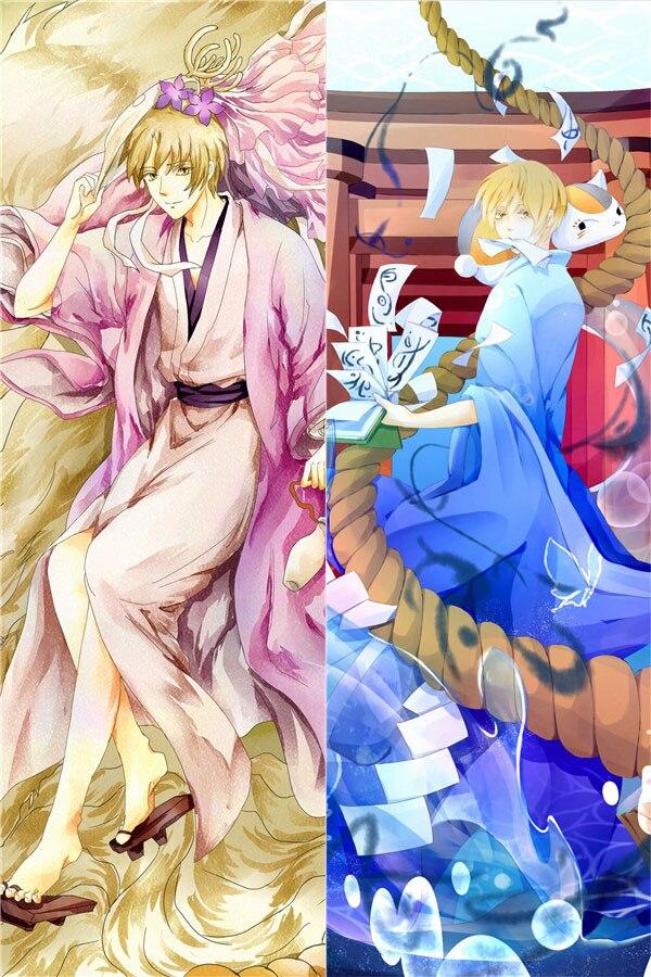 Natsume-housse de coussin à câliner   Taie doreiller, Takashi, japon Anime Natsume Yujin Cho, décoration pour la maison, mise à jour Dakimakura, 2018