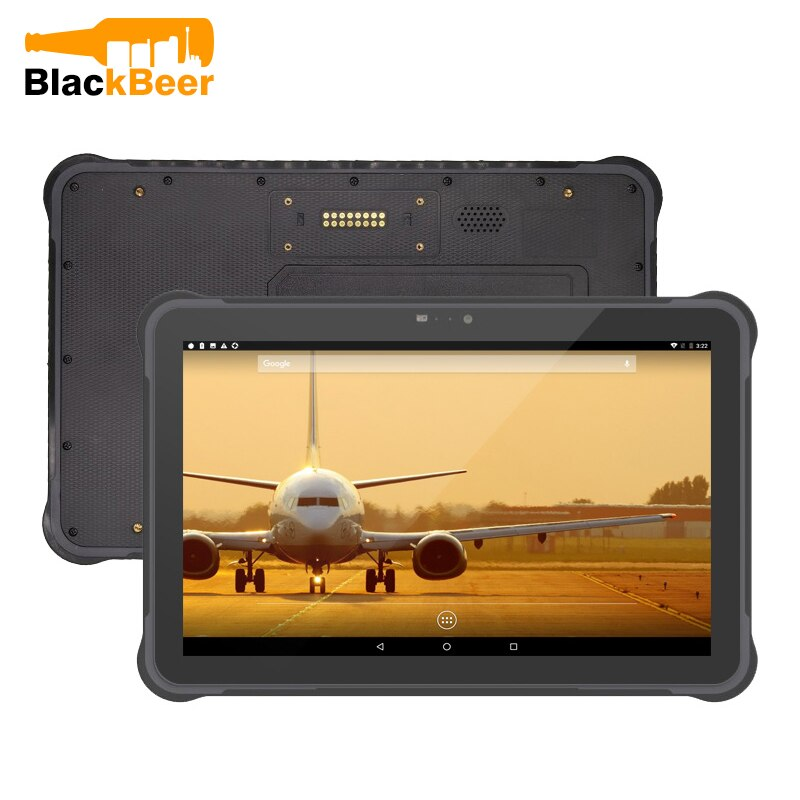 UNIWA T11 Waterproof IP67 Mobile Phone Rugged Tablet Octa Core Android 7 GPS 4G Tablet 10.1 inch Shockproof Tablet PC WIFI NFC