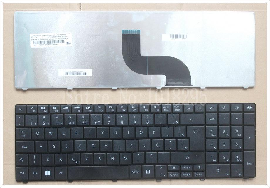 Para GATEWAY Packard Bell Easynote TK37 TK81 TK83 TK85 TX86 TK87 TM05 TM80 TM81 TM97 NV50 TM86 NV59A Brasil portátil teclado BR