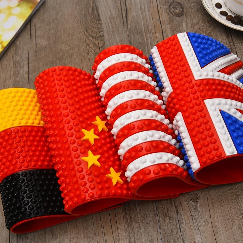 Противоскользящий автомобильный коврик с флагом Великобритании и США, противоскользящий автомобильный коврик на приборную панель, Липкий Противоскользящий коврик для телефона, держатель для автомобиля, бесплатная доставка