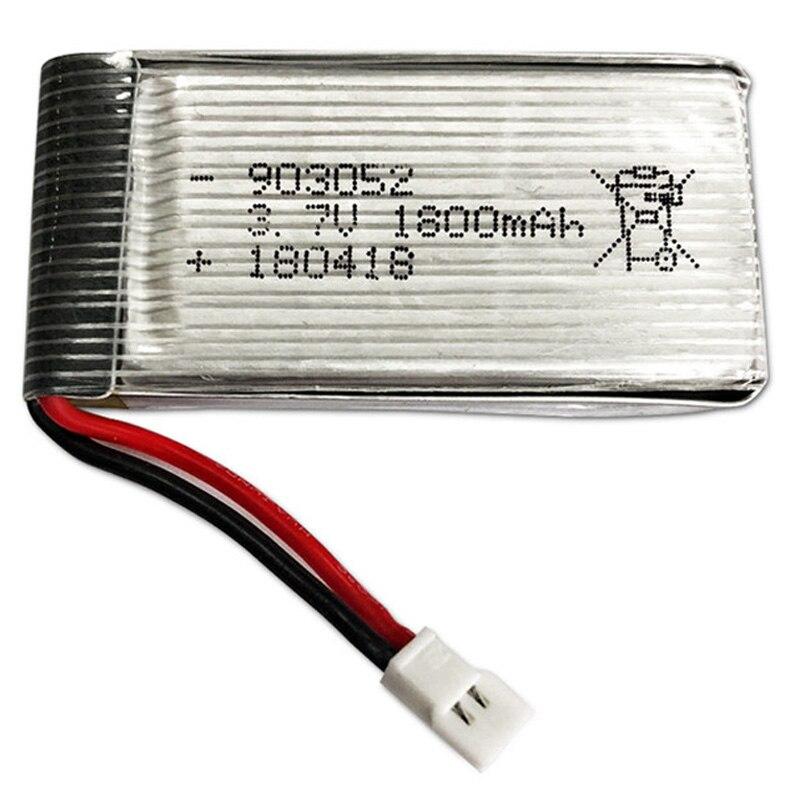 3.7 v 1800 mah lipo bateria rc quadcopter brinquedos acessórios peças de reposição para ky601s ky101s lipo bateria 3.7 v 1800 mah lipo bateria