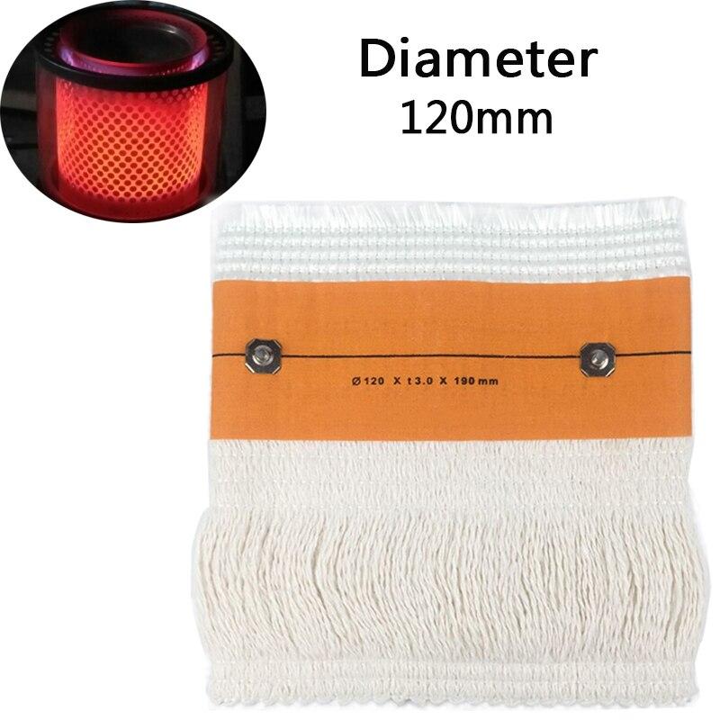 2017 mejor Selling120 * t3.0 * 190mm lana de vidrio sin radiación consume keroseno estufa mechas dos tipos Cardin tamaño para usted Opt