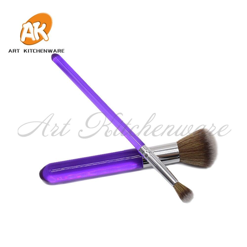 Pastel cepillo pastel con fondant de flores decoración repostería herramientas confitería herramientas para hornear de herramienta de pincel de maquillaje conjunto