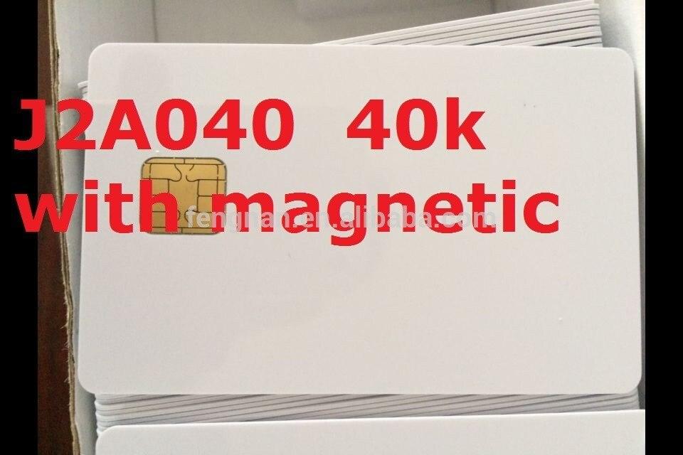 50 piezas para un lote de chips originales para tarjeta magnética j2a040 40k chips originales