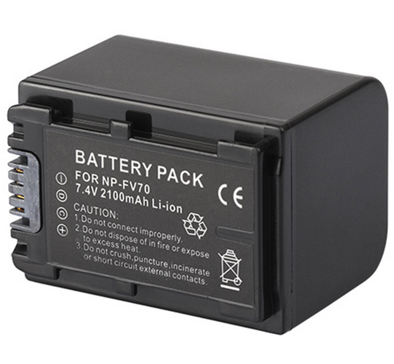 Paquete de baterías para videocámara Sony FDR-AXP33, FDR-AXP35, FDR-AXP55, HDR-TD10, HDR-TD20V, HDR-TD30V,...