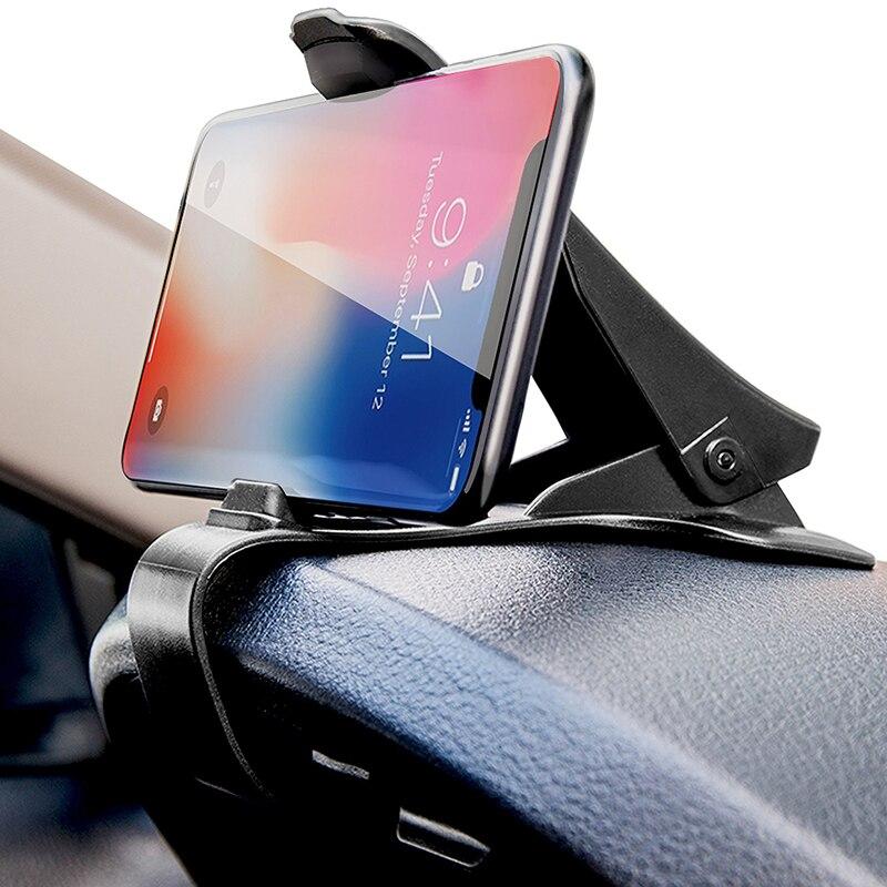 Sostenedor del teléfono del coche salpicadero ajustable para Ford Focus 2 3 Golf Mazda 6 Chevrolet Cruze Hyundai Peugeot Skoda Kia Opel