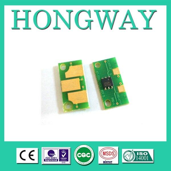 Chip de tóner Compatible Minolta 7400 7440 7450 para Minolta 8938-616 615 614 613 chip de reinicio (incluido 12 piezas) un paquete