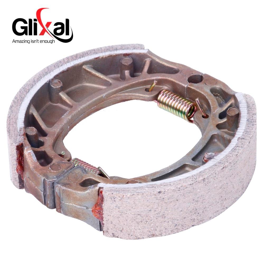 Glixal 105 мм китайские тормозные колодки для скутера для GY6 50cc 125cc 150cc 139QMB 139QMA 152QMI 157QMJ Мопед ATV картинг