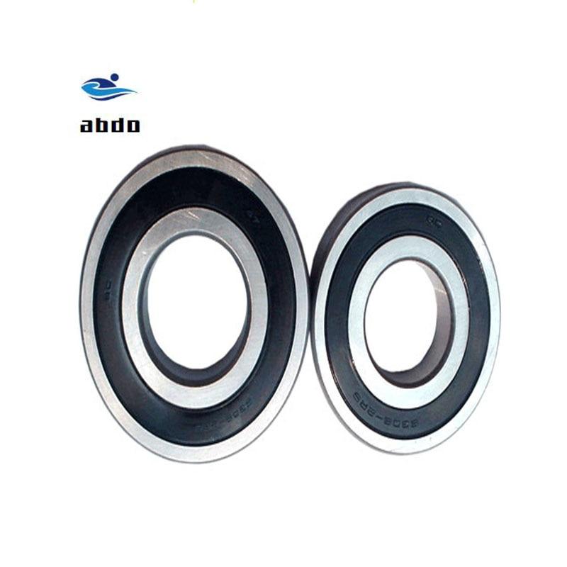 Alta calidad 10 Uds ABEC-5 6801 2RS 6801RS 12x21x5mm pared delgada doble sello de goma rodamiento rígido de bolas 6801-2RS 6801 RS