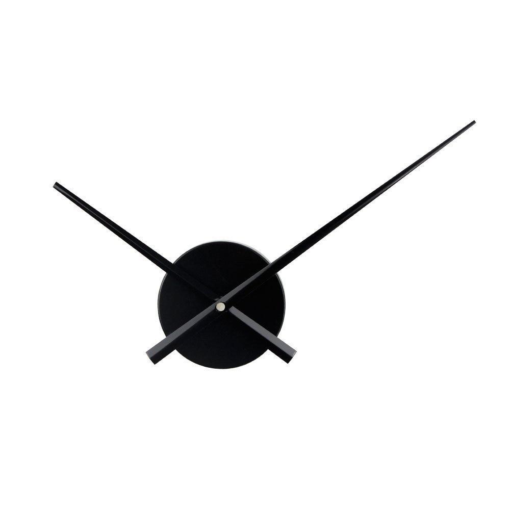 Accesorios creativos De reloj De pared DIY reloj De cuarzo mecanismo Metal reloj agujas 3D Reloj De pared decoración del hogar Relogio De Parede