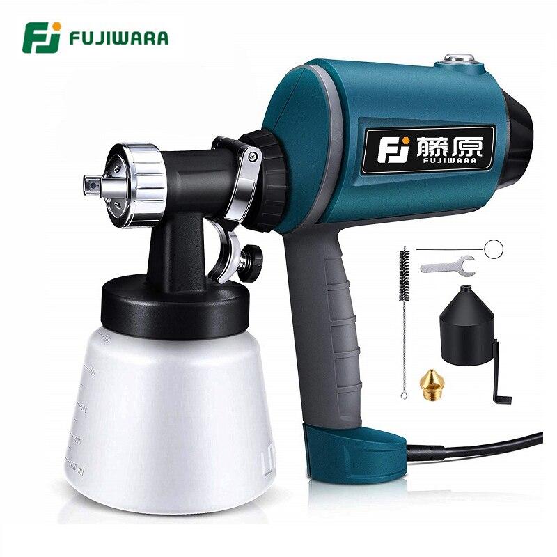 FUJIWARA электрический пистолет для дезинфекции воды 220-240 В 50 Гц Аэрограф 1,5 мм/1,8 мм/2,5 мм Насадка для распыления краски