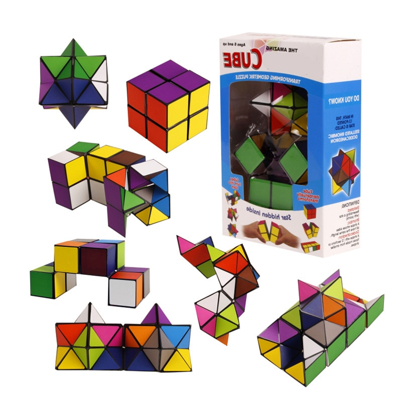 New Arrival Hot Sales Toys Infinity Cube Popular Spot Items Unlimited Square Star Infinite Decompression