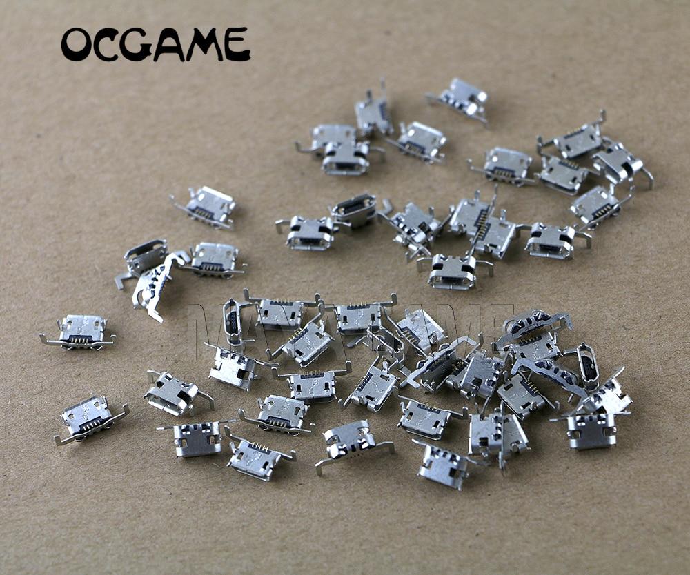 OCGAME 100 unids/lote conector de carga original puerto de carga toma de corriente para Xbox One XboxOne reemplazo del controlador inalámbrico