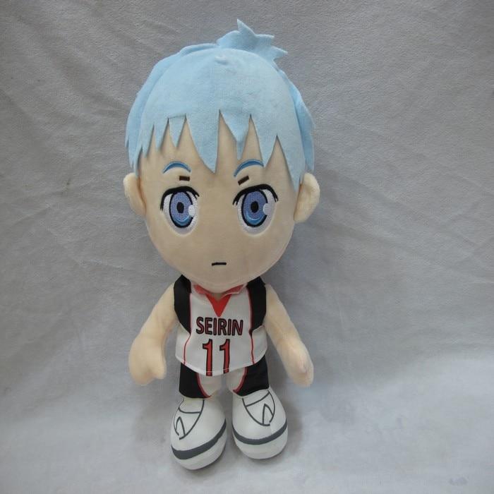Anime Kurokos baloncesto peluche colgante juguete Kuroko Tetsuya muñeca suave relleno colgante juguetes regalos 33cm